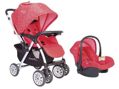 Carriola Orion Roja Para Bebé Evenflo Nuevo
