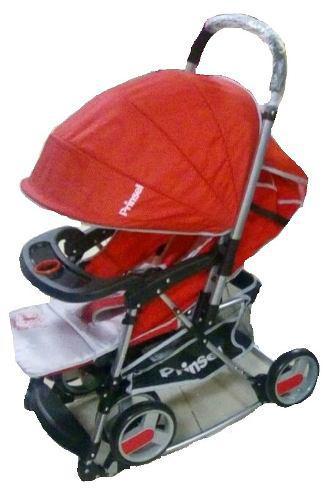 Carriola Para Bebe 3 Posiciones Mecedora Twister Prinsel Msi