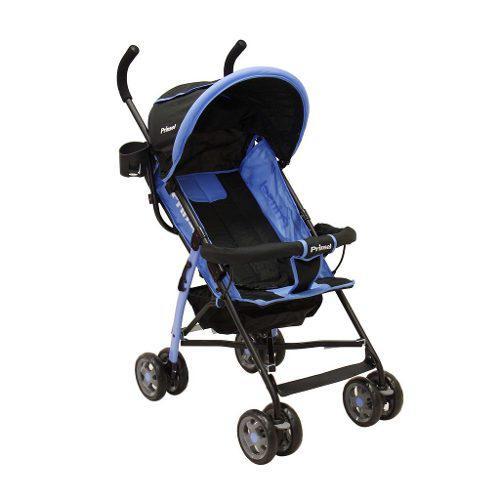 Carriola Para Bebe Azul Plus Niños Tijera Ligera + Msi