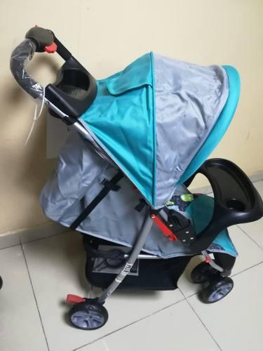 Carriola Para Bebe Kids 3 Ruedas Jet Muy Compacta