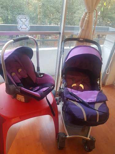 Carriola Para Bebe Prinsel Morada Modelo Aspen Lt Remate