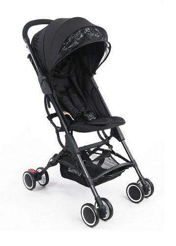 Carriola Safety Zippy Plegable Ultra Compacta - Negro
