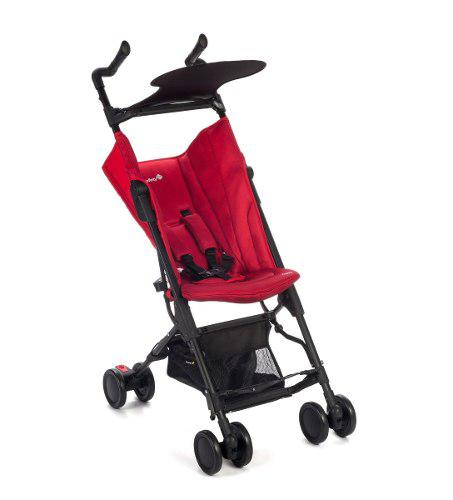 Carriola Safety Zippy Plegable Ultra Compacta - Roja