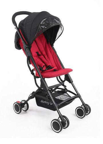Carriola Safety Zippy Plegable Ultra Compacta - Rojo