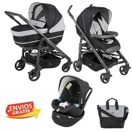 Carriola Trio Love Motion Chicco Set Completo