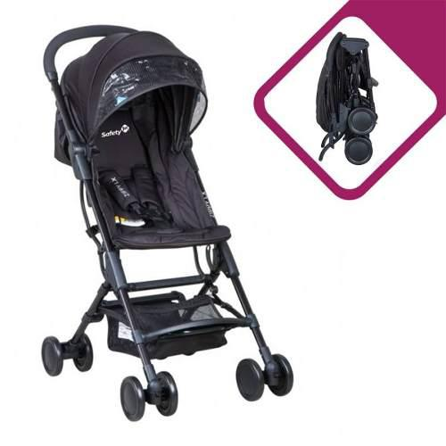 Carriola Ultracompacta, Safety, Zippy Lx, Color Negra, Nue