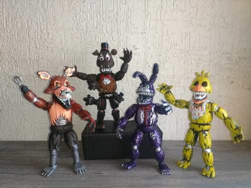 Five Nights At Freddy's Coleccion Nightmares Nuevos!!!
