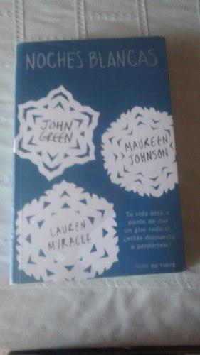 Libro Noches Blancas / John Green