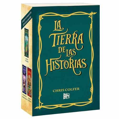Pack La Tierra De Las Historias (3 Libros) - Chris Colfer