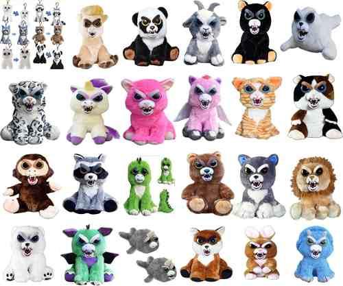 Peluche Feisty Pets Juguete Original Mascota 30 Modelos