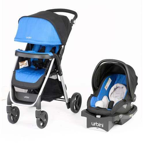 Sistema De Viaje Para Bebé, Urbini Emi, Verde Azulado