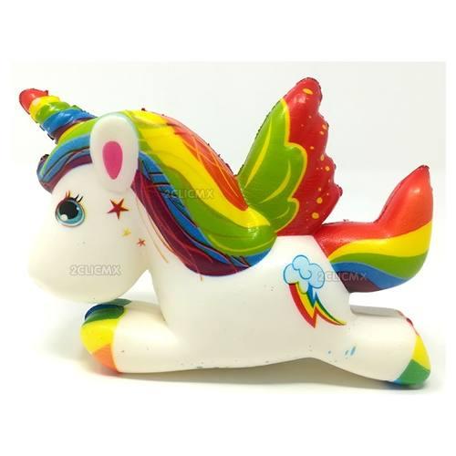Squishy Kawaii Juguetes Unicornio Arcoiris Nubesita Fiesta