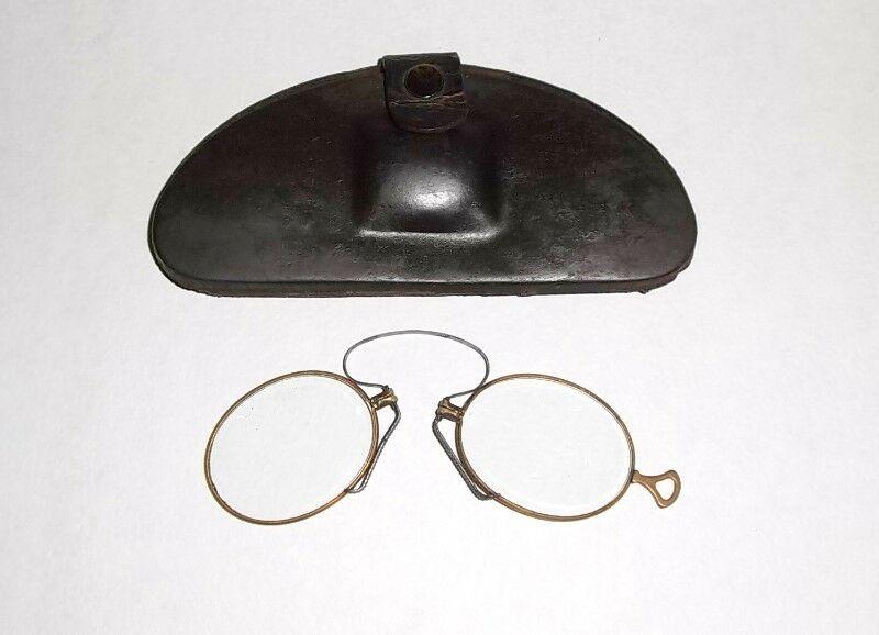 Antiguos anteojos o Quevedos del Siglo 19 de pinza con