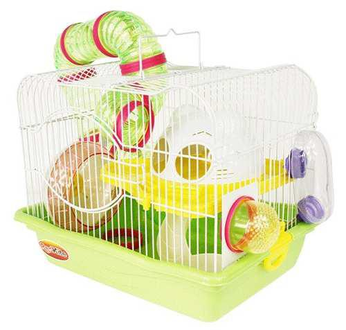 Jaula Fresno 1 Con Bebedero Para Hamster Envio Gratis