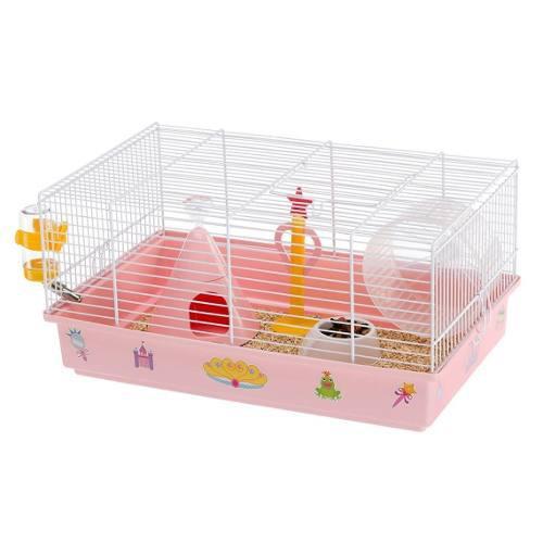 Jaula Hamster Ferplast Criceti Princesas 46x29.5x23cm Envío
