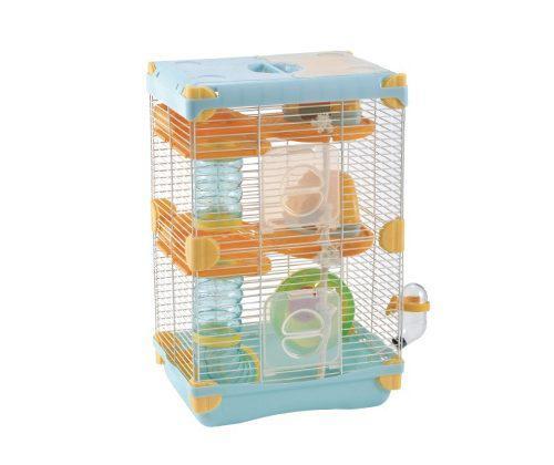 Jaula Para Hamster C/bebedero 27.7x20.5x42.5 Varios Colores
