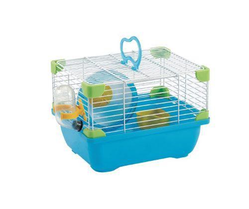 Jaula Para Hamster Con Bebedero 24x18.3x16 Varios Colores