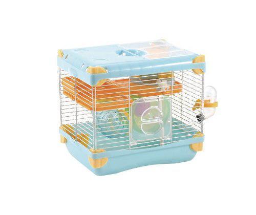 Jaula Para Hamster Con Bebedero 27.7x20.5x25 Varios Colores
