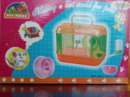 Jaula Para Hamster Pet Home 33x21x24.5 Cm