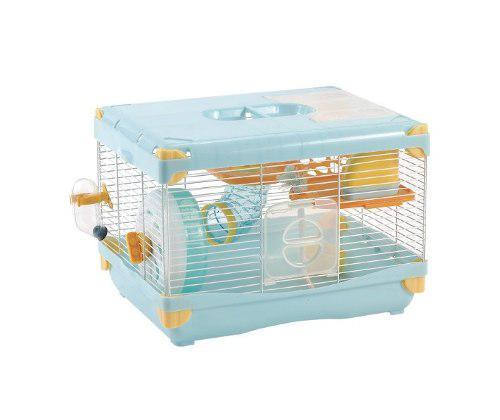 Jaula Plastica Para Hamster Land 36x27x25 Varios Colores