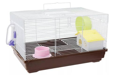 Jaula Tuxon Para Hamster 47 X 30 X 37 Cm