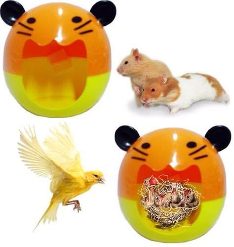 Oferta Nido Casita Plastico Para Hamster Y Otros Roedores