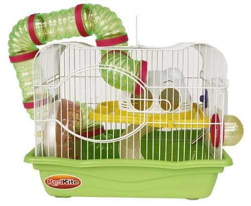 Paq Jaula Fresno I P/ Hamster + Aserrin + Alimento + Esfera
