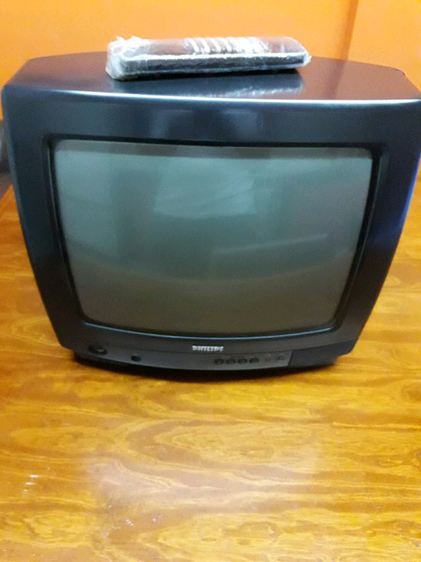 Vendo TV de 14p PHILIPS con control