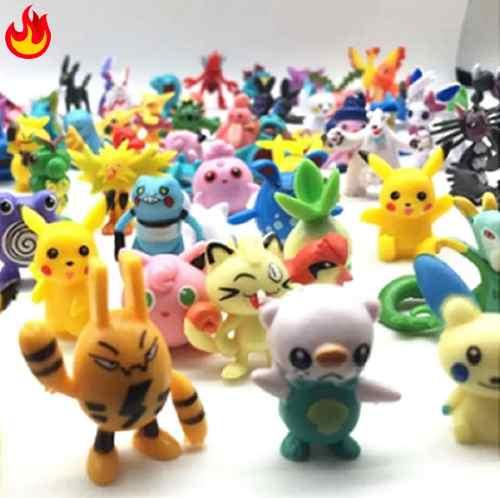 144 Figuras De Pokemon Coleccionables + Pikachu De Regalo