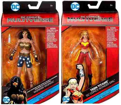Dc Multiverse Mujer Maravilla Baf Dr Psycho Precio Par Ofert