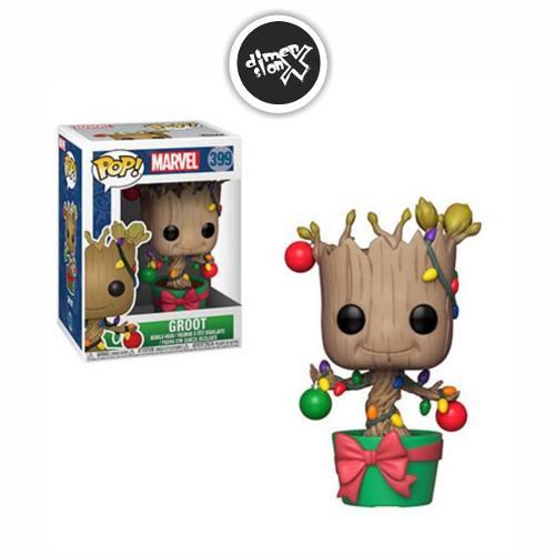 Funko Pop Groot With Lights Holiday Marvel Navideño