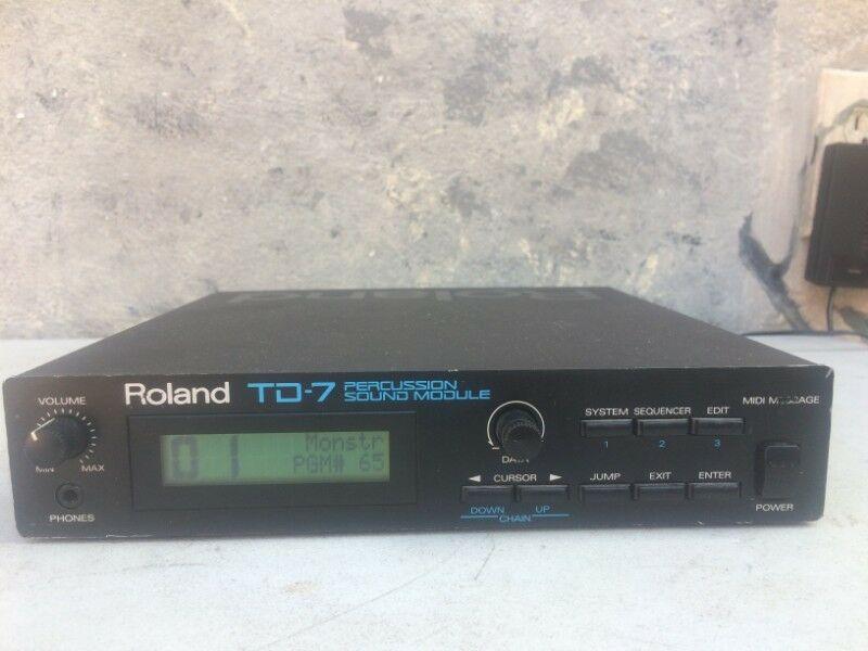 Modulo para bateria electrica Roland TD7