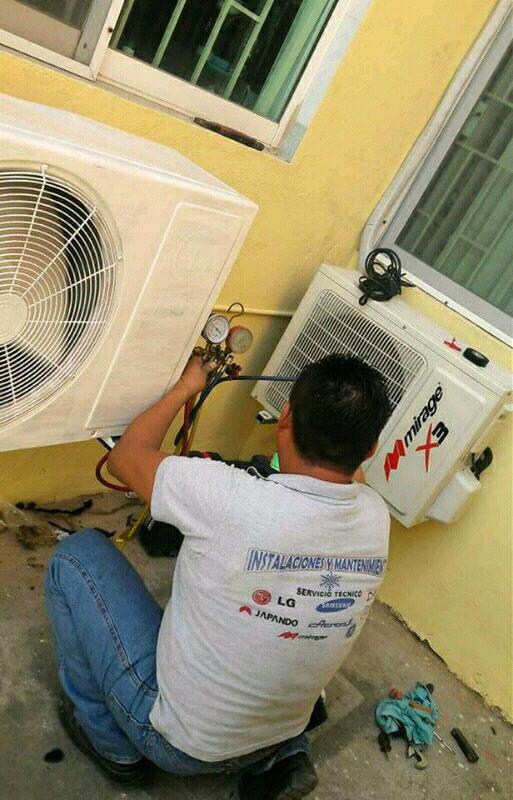 Reparación y instalación de minisplit y climas de ventana