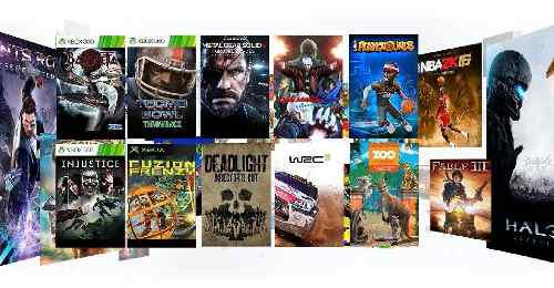 190 Juegos Para Xbox One - Game Pass - Offline - 6 Meses