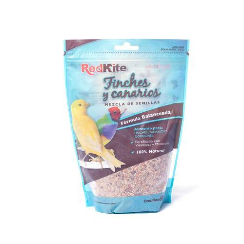 Alimento Mezcla Semillas Aves Canarios/finches Redkite 500gr
