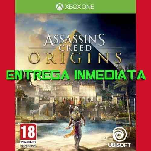 Assassins Creed Origins Xbox One Digital Offline No Código