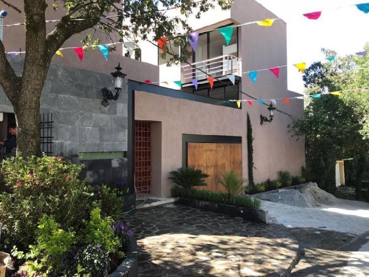 Casas nuevas en condominio horizontal, Lomas de Padierna
