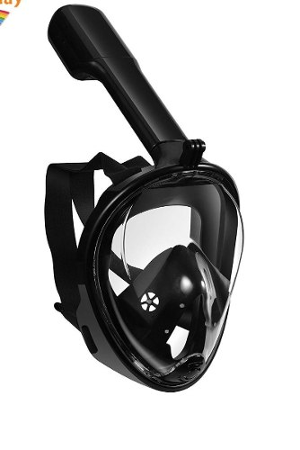 Full Face Snorkel Mask Mascara Buceo 180 Grados