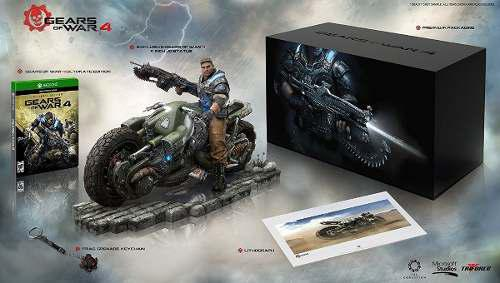 Gears Of Wars 4 Juego Edicion Limitada Fenix Moto 100% Nuevo