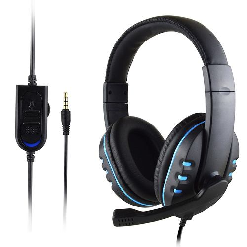 Headset Diadema Audifonos Gamer Ps4 Slim Pro Xbox One S X Pc