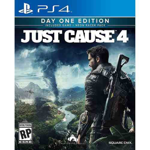 Just Cause 4 Day One Limited Edition Ps4 (d3 Gamers)msi