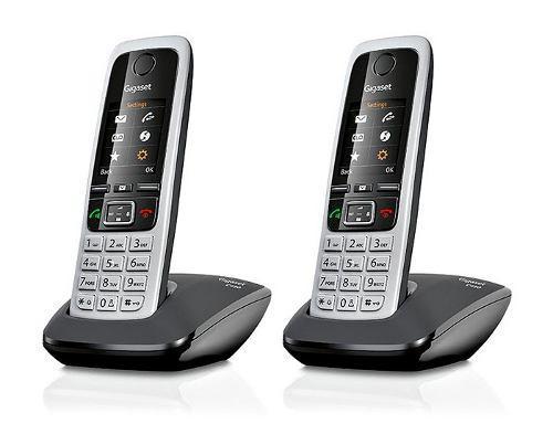 Kit Dos Teléfonos Inalámbricos Dect 6 Siemens Gigaset C430