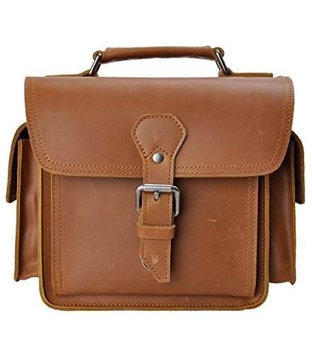 Leather Camera Bag Zlyc Vintage Dslr Slr Bag Removable Shock