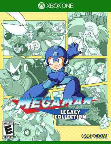 Megaman Legacy Collection Xbox One Nuevo Fisico Od.st