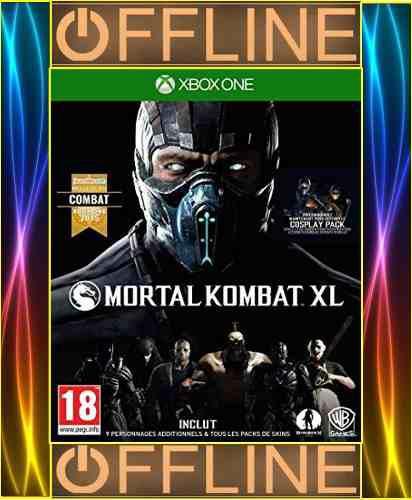 Mortal Kombat Xl Offline Para Xbox One