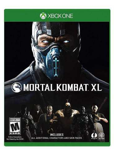 Mortal Kombat Xl Para Xbox One Nuevo (en D3 Gamers)