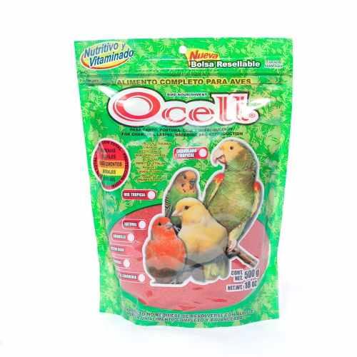 Ocell 06 Alimento Para Aves Factor Rojo 500 Gr Canarios