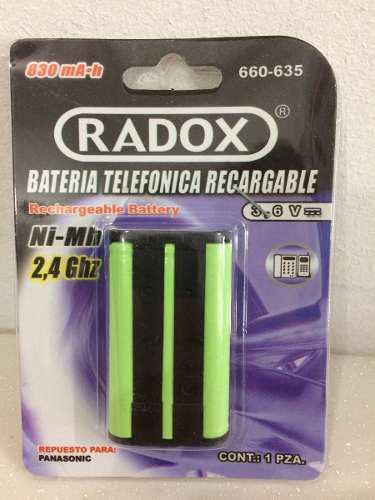 Recargable Batería Telefónica 660-635