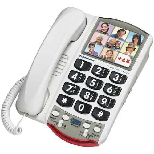Teléfono Amplificador Para Personas Con Problemas De Oido