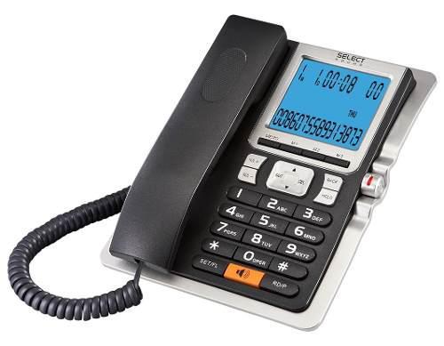 Teléfono Con Indentificador Y Alarma Select Sound